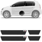 Soleira Resinada Mini Premium Volkswagen Up Tsi 2014 15 16 17 18 19 6 Peças