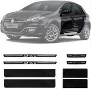 Soleira Resinada Premium Fiat Bravo 2011 12 13 14 15 16 8 Peças