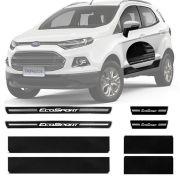 Soleira Resinada Premium Ford Ecosport 2013 14 15 16 8 Peças