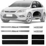 Soleira Resinada Premium Ford Focus 2013 14 15 16 17 Hatch / Sedan 8 Peças