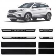 Soleira Resinada Premium Ford Territory 2020 21 8 Peças