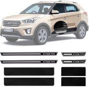 Soleira Resinada Premium Hyundai Creta 2017 18 19 8 Peças