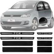 Soleira Resinada Premium Volkswagen Fox 2003 Até 2021 8 Peças