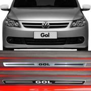 Soleira Resinada Premium Volkswagen Gol 1994 a 2015 8 Peças