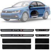 Soleira Resinada Premium Volkswagen Jetta Tsi 2011 12 13 14 15 16 17 18 8 Peças