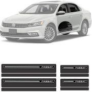 Soleira Resinada Premium Volkswagen Passat 2018 19 - 12 Peças