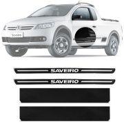 Soleira Resinada Premium Volkswagen Saveiro 2008 09 10 11 12 Cabine Simples