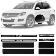 Soleira Resinada Premium Volkswagen Tiguan 2010 11 12 13 14 15 16 17 8 Peças