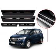 Soleira Sofisticar Resinada Com Blackout Chevrolet Spin 2012 13 14 15 16 17 18 19 20 21 8 Peças