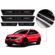 Soleira Sofisticar Resinada Com Blackout Volkswagen Nivus 2020 Em Diante 8 Peças
