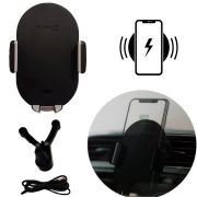 Suporte Automotivo Carro Para Celular Com Carregador Wireless Indução IT Blue