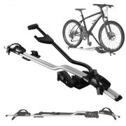 Suporte Transbike Para 1 Bicicleta Para Rack Teto Thule ProRide 598 Universal Aluminium