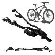 Suporte Transbike Para 1 Bicicleta Para Rack Teto Thule ProRide 598 Universal Preto