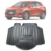Tapete Bandeja Porta Malas Com Borda Elevada Chevrolet Onix Plus Hatch 2020 21