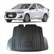 Tapete Bandeja Porta Malas Com Borda Elevada Chevrolet Onix Plus Sedan 2020 21