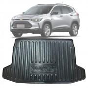 Tapete Bandeja Porta Malas Com Borda Elevada Chevrolet Tracker 2020 21 Piso Superior