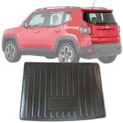Tapete Bandeja Porta Malas Com Borda Elevada Jeep Renegade 2015 16 17 18 19