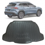 Tapete Bandeja Porta Malas Com Borda Elevada Toyota Corolla Cross 20 21 22 Plástico