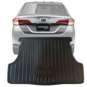 Tapete Bandeja Porta Malas Com Borda Elevada Toyota Yaris Sedan 2018 19