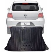 Tapete Bandeja Porta Malas Com Borda Elevada Volkswagen Gol 2016 17 18 19