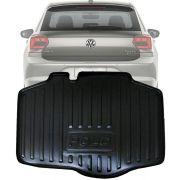 Tapete Bandeja Porta Malas Com Borda Elevada Volkswagen Polo MSI 2018 19