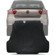 Tapete Bandeja Porta Malas Com Borda Elevada Volkswagen Voyage 2016 17 18 19