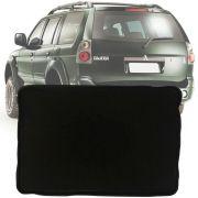 Tapete Bandeja Universal Série 3 Porta Malas Com Borda Elevada de 3,5cm Mitsubishi Pajero Sport 1998 a 2018