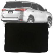 Tapete Bandeja Universal Série 3 Porta Malas Com Borda Elevada de 3,5cm Toyota Hilux Sw4 2016 17 18 19