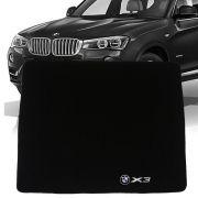 Tapete Carpete Porta Malas Bordado Bmw X3