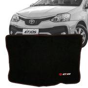 Tapete Carpete Porta Malas Bordado Toyota Etios 2017 Em Diante