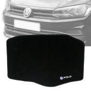 Tapete Carpete Porta Malas Bordado Volkswagen Novo Polo 2018 19