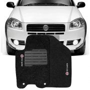 Tapete Carpete Tevic Fiat Strada 2012 13 14 15 16 17 Cabine Simples