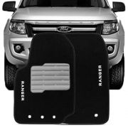 Tapete Carpete Tevic Ford Ranger 2013 14 Cabine Simples