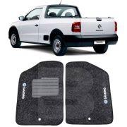 Tapete Carpete Tevic Volkswagen Saveiro G2 G3 G4 2000 01 02 03 04 05 06 07 08 Cabine Simples