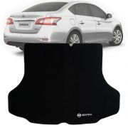 Tapete Carpete Porta Mala Tevic Nissan Sentra 2013 Em Diante