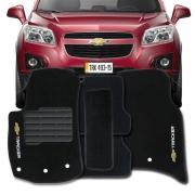 Tapete Carpete Tevic Chevrolet Tracker 2018 19 Sem Extintor