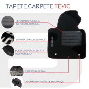 Tapete Carpete Tevic Premium Renault Fluence 5 Peças
