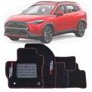 Tapete Carpete Tevic Toyota Corolla Cross 2021 Em Diante