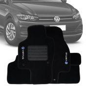 Tapete Carpete Tevic Volkswagen Virtus 2019 20
