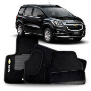 Tapete Carpete Tevic Chevrolet Spin 2012 13 14 15 16 17 18 6 Peças