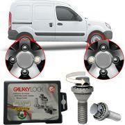 Trava Antifurto Anti Roubo de Roda Parafuso Porca Farad Galaxylock Renault Kangoo 2013 em Diante Com Mais de 10.000 Segredos I/M