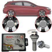 Trava Antifurto Anti Roubo de Roda Parafuso Porca Farad Galaxylock Subaru Impreza Com Mais de 10.000 Segredos R/M