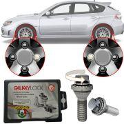 Trava Antifurto Anti Roubo de Roda Parafuso Porca Farad Galaxylock Subaru Impreza Wrx Sti Com Mais de 10.000 Segredos R/M