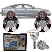 Trava Antifurto Anti Roubo de Roda Parafuso Porca Farad Starlock Audi A7 2011 12 13 14 15 16 18 Com Mais de 10.000 Segredos ZA/E