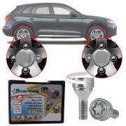 Trava Antifurto Anti Roubo de Roda Parafuso Porca Farad Starlock Audi Q5 2009 á 2018 Com Mais de 10.000 Segredos PP12/E