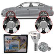 Trava Antifurto Anti Roubo de Roda Parafuso Porca Farad Starlock Audi RS 3 2012 13 16 18 Com Mais de 10.000 Segredos ZA/E