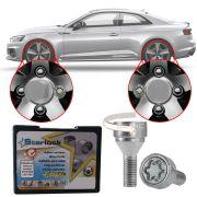 Trava Antifurto Anti Roubo de Roda Parafuso Porca Farad Starlock Audi RS 5 2011 12 13 14 15 Com Mais de 10.000 Segredos ZA/E