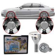 Trava Antifurto Anti Roubo de Roda Parafuso Porca Farad Starlock Audi S4 1999 00 01 04 05 13 14 Com Mais de 10.000 Segredos ZA/E