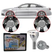 Trava Antifurto Anti Roubo de Roda Parafuso Porca Farad Starlock Audi S5 2009 12 13 14 15 Com Mais de 10.000 Segredos ZA/E