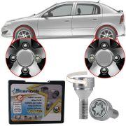 Trava Antifurto Anti Roubo de Roda Parafuso Porca Farad Starlock Chevrolet Astra Com Mais de 10.000 Segredos I3/E